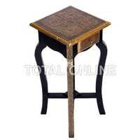 Long Square Shape Wooden Stool
