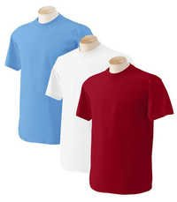 Half sleeve round neck t shirts