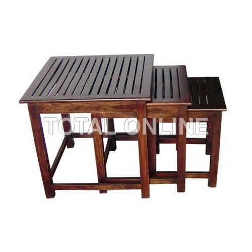 Exquisite Set of Wooden Tables