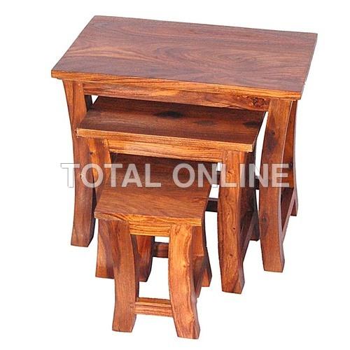 Fabulously Designed Nest of Three Table