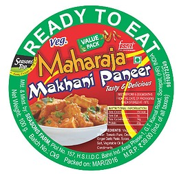 READY TO EAT Makhani Paneer
