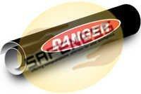 Danger Kwik-Koil Pipe Markers