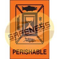 Perishable International Shipping Label