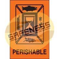 Perishable International Shipping Label
