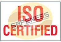 ISO Certified Package Handling Label