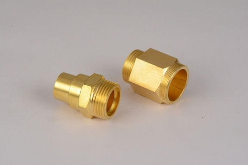 Brass Hex Adaptor For Gas Fittings
