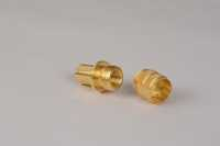 Brass Knurling Nut For Stove