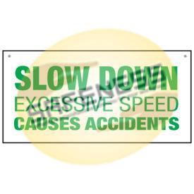 Bulk Warehouse Signs - Slow Down