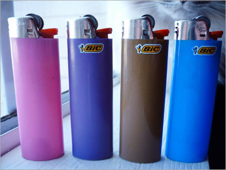 Plastic Electronic Refillable Lighters