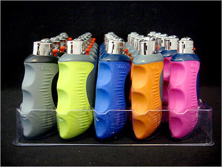 Plastic Electronic Refillable Big Bic Lighters