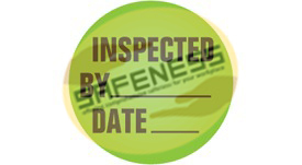 Inventory Inspection Labels