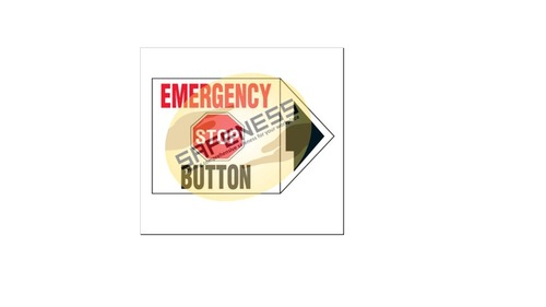 Arrow Labels - Emergency Stop Button