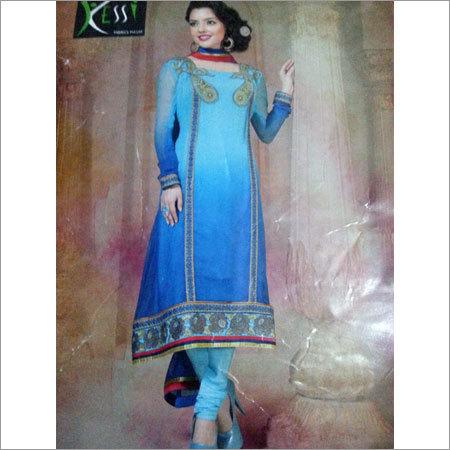 Cotton Anarkali Churidar Suit