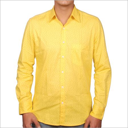 Yellow Men Shirts