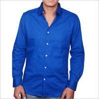 Blue Casual Shirts