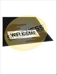 Scraper/Wiper Sign Mats - Welcome