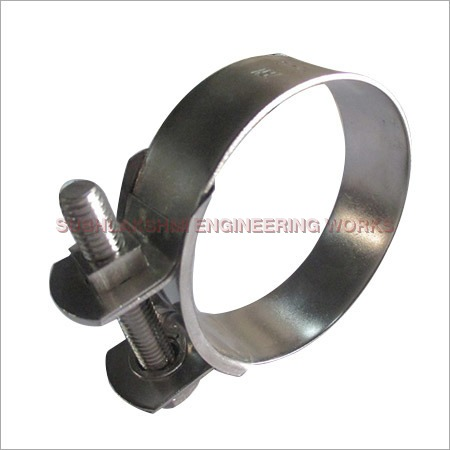 SS Heavy Duty Nut Bolt Clamp