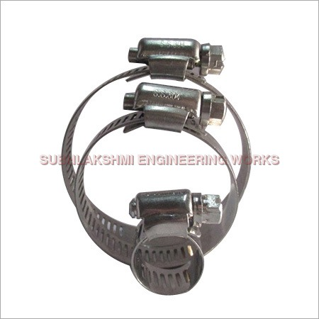 202 SS Worm Drive Hose Clips