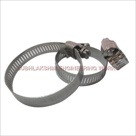 Stainless Steel 304 Worm Drive Hose Clips