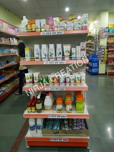 Supermarket End Cap Shelving