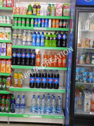 Soft Drink Storage Racks