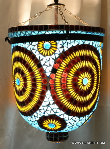 Belljar Mosaic Lamp Shade