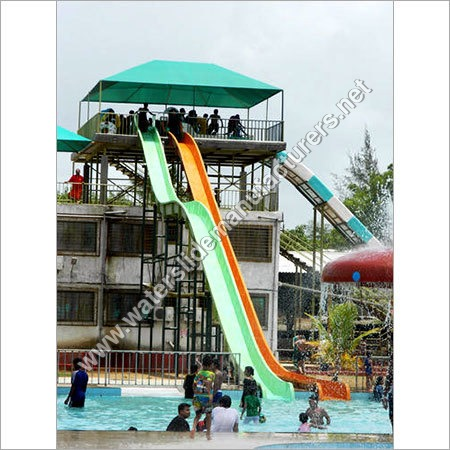 FRP Thrill Water Slide