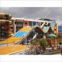 Multi Lane Water Slides