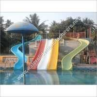 FRP Kids Water Slider