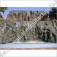 FRP Artificial Waterfall