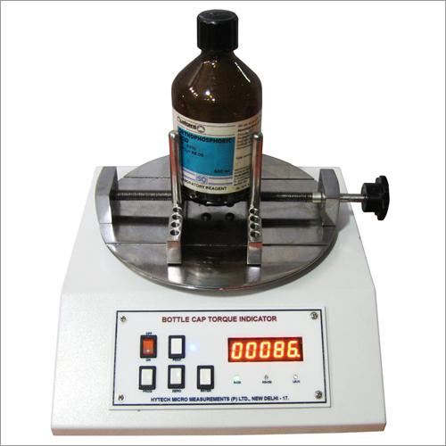 PET Bottle Cap Torque Tester