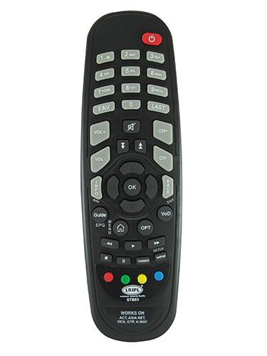TV & Set Top Box Remotes