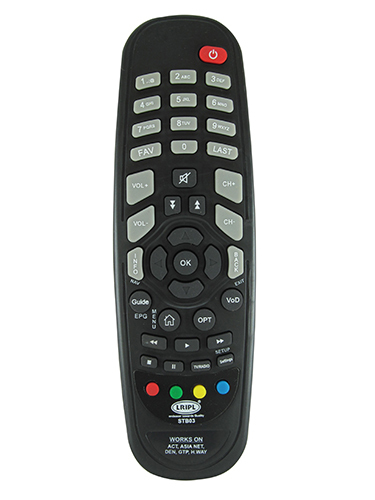 Set Top Box Remote Control