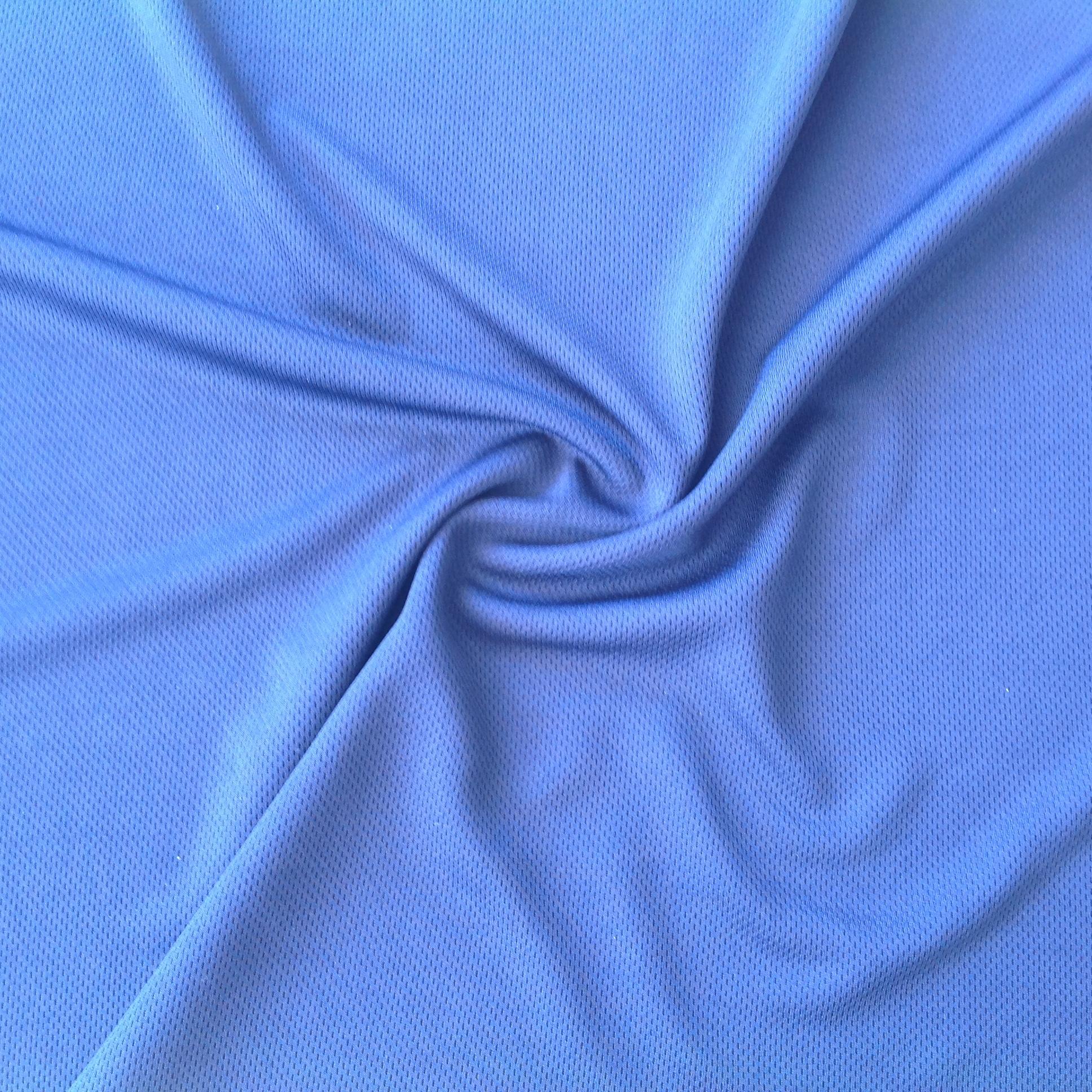 Eyelet Knitted Mesh Knit Interlock Fabrics