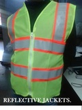 REFLECTIVE FLUORESCENT JACKET