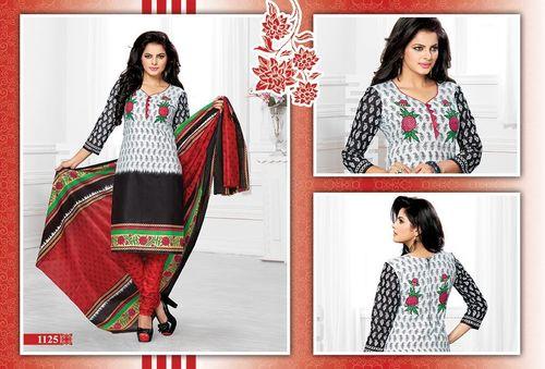 Navrang Cotton Printed Dress Material