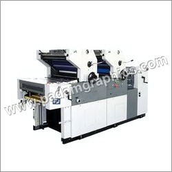 Two Colour Paper Printing Machine