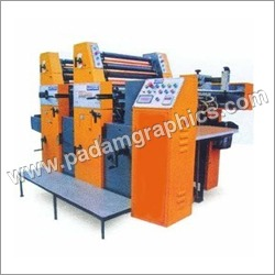 Two Colour Non Woven Bag Printing Machines