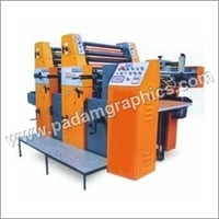 Two Color Sheet Fed Offset Printing Machine