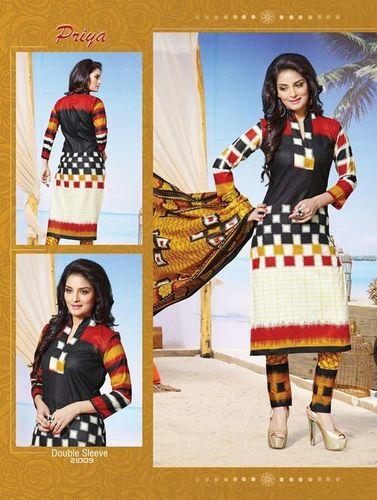 Priya Cotton Printed Dress Material