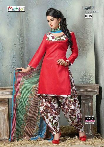 Mehta Flora Cotton Printed Dress Material