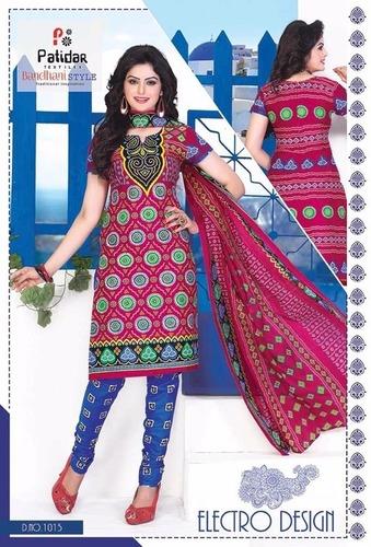 Patidar mills Cotton Printed Dress Material