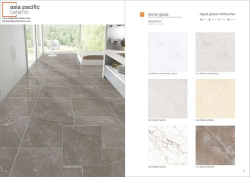 PORCELAIN TILES 600 X 600 MM