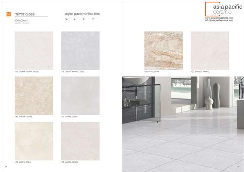 Porcelain Tiles 600X600 mm