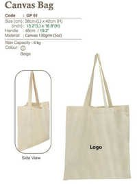 Canvas Hand Bag