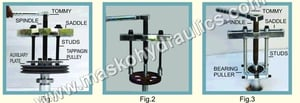 Jack Extractor and Bearing Puller Attachment