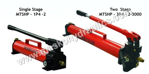 Stainless Steel Hydraulic Hand Pump