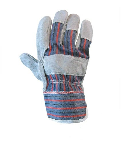 CHROME LEATHER HAND GLOVES.