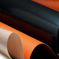 Silicon Coated Fiberglass Fabrics Belts