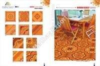 300 X 300 Mm Wooden Glossy Ceramic Floor Tiles
